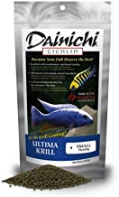 Dainichi Ultima Krill Floating Cichlid Fish Food, Small (3.5 mm) 1.1 lb by Dainichi