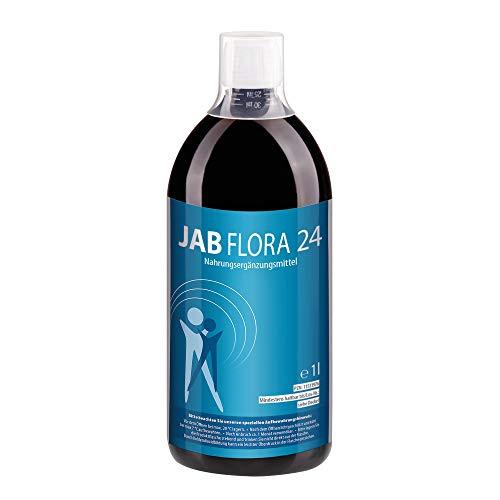 JAB biopharma Flora 24 - Mit 24 Bakterienstämmen - vegan - hochdosiert -1 Liter, hergestellt in Deutschland
