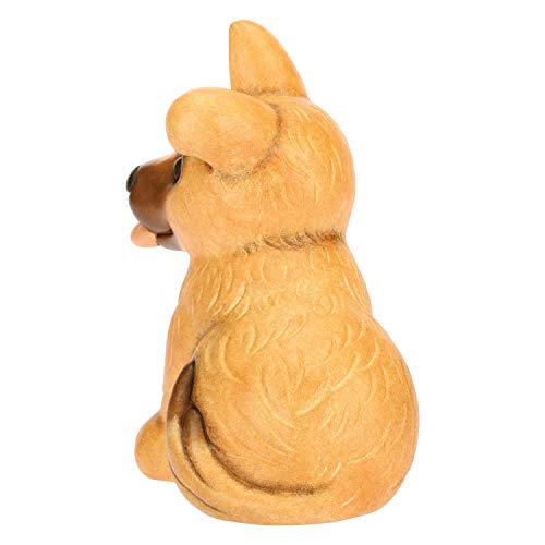 THUN ® - Cane Pastore Belga- Ceramica - h 18 cm - Linea I Classici