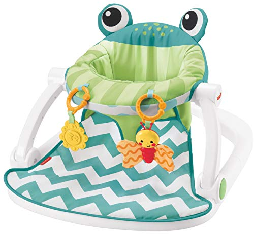 Fisher-Price Sit-Me-Up Floor Seat, Citrus Frog by Fisher-Price