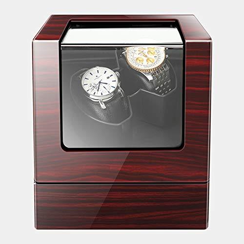 KJHGMNB Beobachten Rotating Box Aufbewahrungsbox 2 + 0 Box Cassette Automatische Mechanische Winder Motorgehäuse End-Viewer Uhren Shaker Durable Motor Doppel Uhrenbeweger Automatik,A
