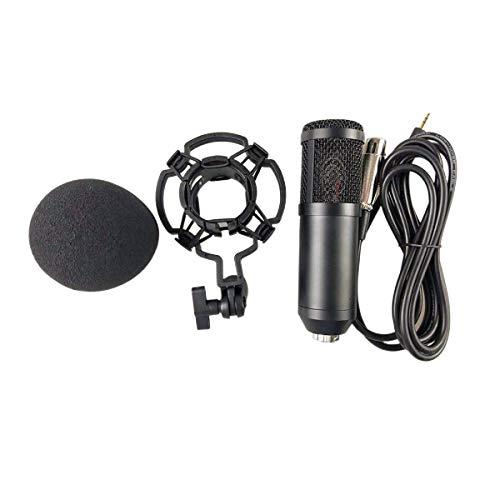 Nihlsen Bm-800 Network K Grabación de canciones Micrófono con cable Micrófono de condensador Soporte de clip de retención Servicio de voz