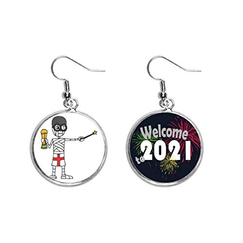 UK Wizard Mummy Football Trophy Ear Pendants Earring Jewelry 2021 Blessing