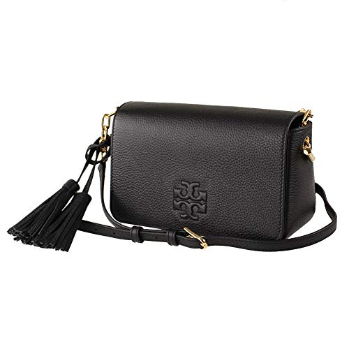 Tory Burch 67303 Black Thea Mini Bag Women's Crossbody
