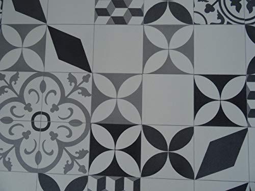 PVC Bodenbelag im Retro-Look (9,95€/m²), Zuschnitt (4m breit, 2,5m lang)