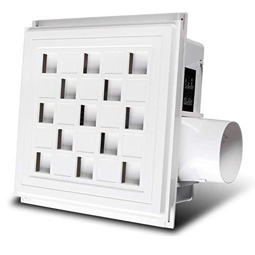 LXZDZ Extractor de baño silencioso a prueba de agua Ventilador de escape Ventilador fuerte para ventiladores de ventilación de ventana de inodoro de cocina