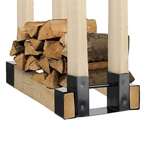 Why Choose Outdoor Firewood Log Rack Bracket Kit Adjustable to Any Length