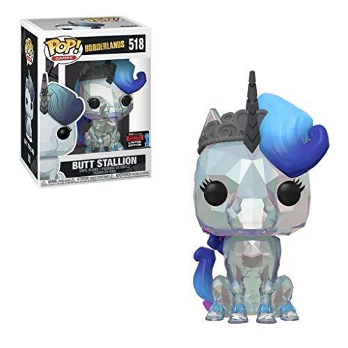 Funko Pop! Borderlands Butt Stallion 518 NYCC Shared Sticker Exclusive