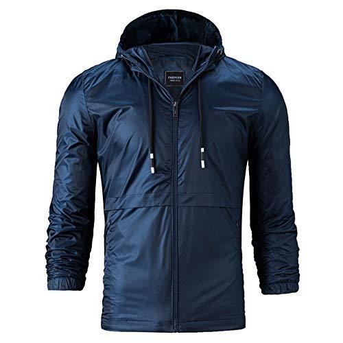 Elecenty Cappotto da giacca in puro cotone con cappuccio, Giacche allentato stile casual autunno inverno