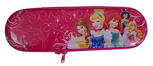Disney Princesses Pink Hard Side Pencil Case, 8 Inch