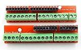 ZHITING Placa de expansión Proto Screw Shield V2 Compatible Arduino R3 Arriba