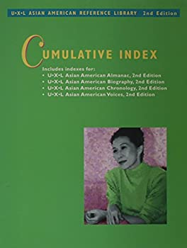 Asian American Reference Library Cumulative Index 0787676063 Book Cover