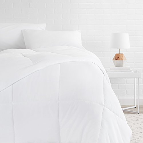 AmazonBasics Down Alternative Comforter, Full/Queen