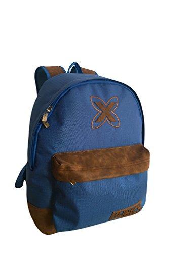 Munich Leather Mochila tipo casual, 40 cm, 20 litros, Azul Marino