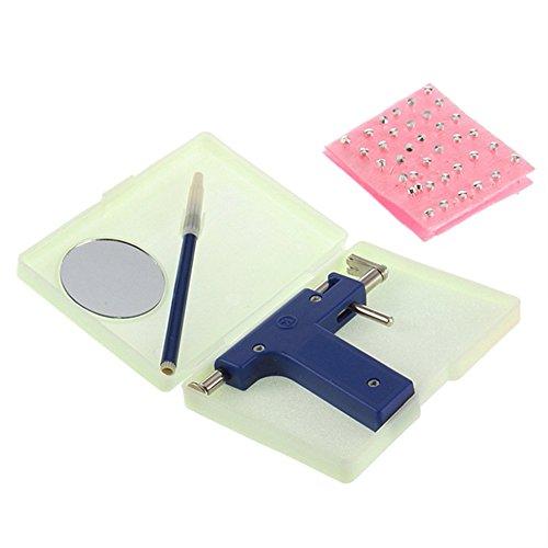 Anself Orecchio Piercing Gun Set Di Sicurezza Orecchio Naso Ombelico Kit Set Con 98Pcs Orecchino Stud