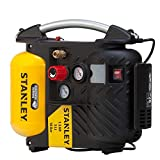 STANLEY DN200/10/5 AIRBOSS Portable Air Compressor, 1100 W, 230 V, Yellow, Small