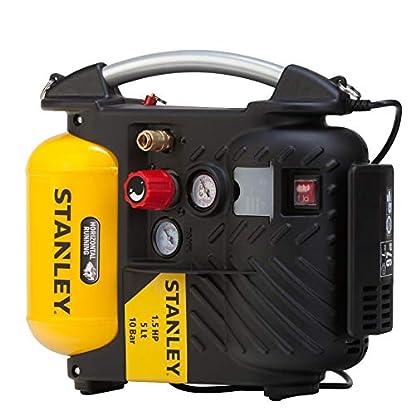 Foto di STANLEY DN200/10/5 AIRBOSS Compressore d'Aria, 1100 W, 230 V
