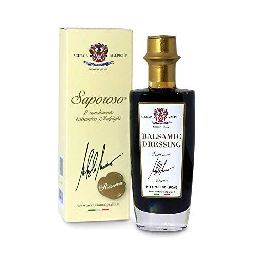 "Malpighi Saporoso Riserva Balsamic ""8 Year"" - 6.7oz. Bottle"