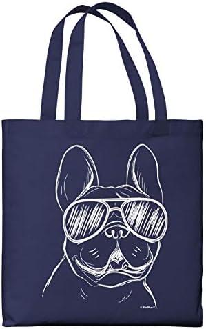 messenger bag French Bulldog Gift French Bulldog Bonjour Canvas Tote Bag tote bag canvas Christmas gift Dog Lover Gift