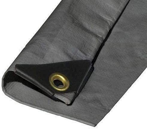 16'X18' Cash special price EXTRA Heavy Duty 12 mil Ply specialty shop Silver Coated Tarp Reinfor 3