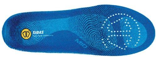 Sidas 3Feet Mid–Sohle geformter Medium–Unisex, blau, 44-45 (XL )