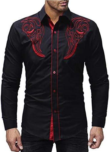AFASSW Flannel-Camisa De Manga Larga para Hombres Camiseta De ...