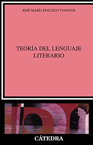 Teoría del lenguaje literario (Crítica y estudios literarios)
