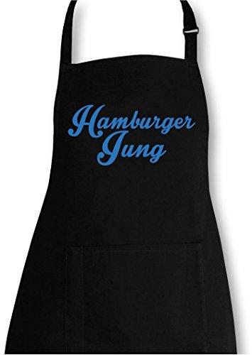 EZYshirt® Hamburger Jung Grillschürze