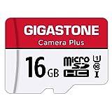 Gigastone Micro SD Card 16GB マイクロ SDカード フルHD SDアダプタ adapter SDHC U1 C10 85MB/S Gopro アクションカメラ スポーツカメラ 高速 メモリーカード Class 10 UHS-I Full HD 動画