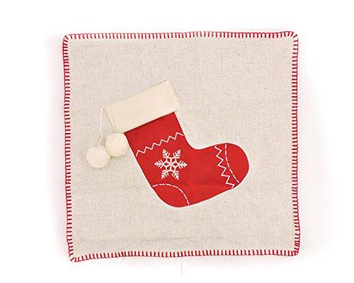 SPENCER N ENTERPRISES Make Your OWN Pillow Christmas Socks Throw Pillow Cover