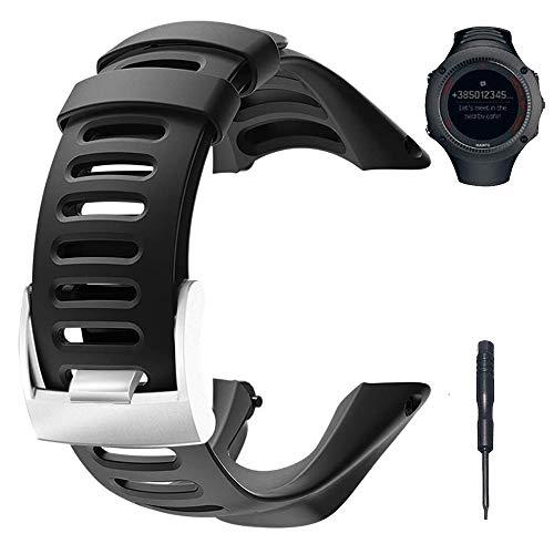 BUTEFO Bracelet de Montre, Watch Strap Kit de Remplacement pour Suunto Ambit 3 Peak/Ambit 2/1