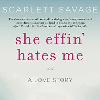 She Effin' Hates Me audiobook cover art