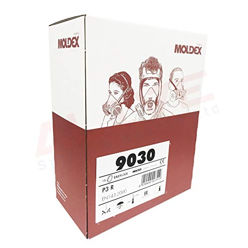 Box Moldex 9030 P3R particular Filter For Series 7000 & 9000-6 Pair by Moldex