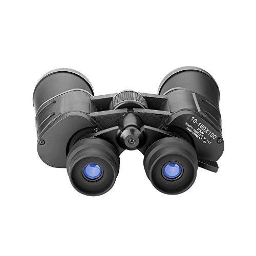 TWWYJGC Binoculares para Exteriores Tubo De 50 Mm 10-180X100 HD Zoom Binoculares Telescopio Observación De Aves Regalo De Viaje