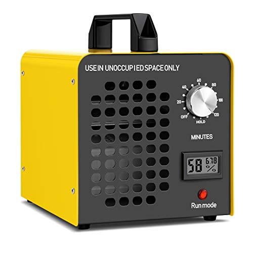 Generador de ozono Purificador de Aire, 14000 mg/h Desodorizador de ozono Ozonizador con Certificado CE - Máquina de Ozono Elimina el Humo/el Olor de Mascotas/contaminante