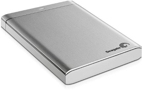 Seagate Backup Plus Portable STBU1000201 Externe Festplatte 1TB (6,4 cm (2,5 Zoll), USB 3.0) silber