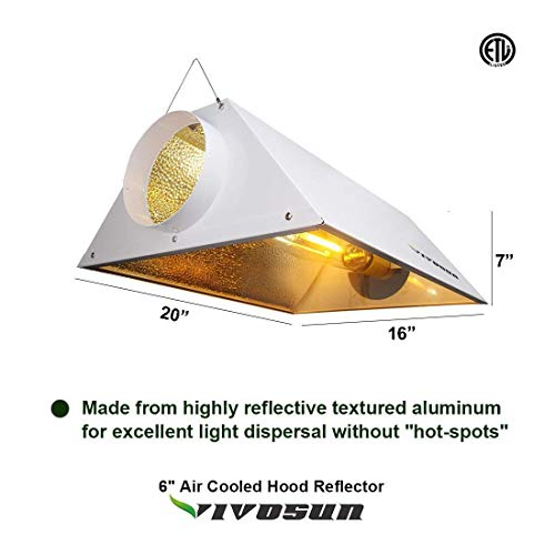 VIVOSUN 1000 Watt HPS Grow Light Kit
