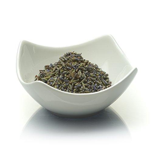 Lavendelblüten aus der Provence 80g, unbehandelt. Lavendel für Tee, zum Kochen, als Deko und gegen Motten. Glutenfrei. Lactosefrei - terranea