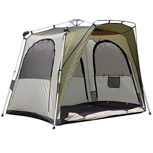 Vlook Tragbare automatische Pop-up Camping wasserdichte Oxford Tuch Zelt, komfortabel, atmungsaktiv, stabil und langlebig, für Picknick Wandern Angeln Reisen