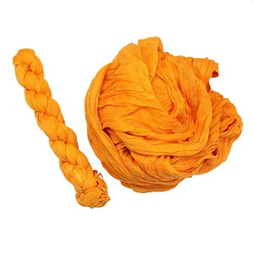 Freak Scene Tissu de coton - paréo - paréo - look plissé - orange - coton