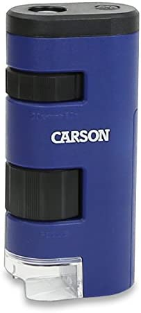 Carson Pocket Micro 20x 60x LED Lighted Zoom Field Microscope with Aspheric Lens System MM 450 product image