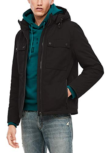Q/S designed by - s.Oliver Winterjacke mit warmer Wattierung black XL