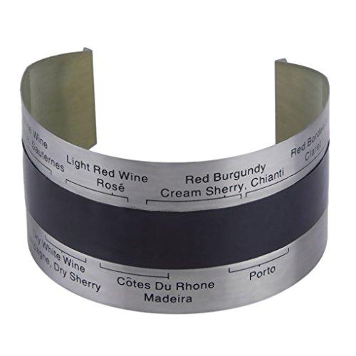 Zerama Acero Inoxidable LCD eléctrica Rojo Vino termómetro