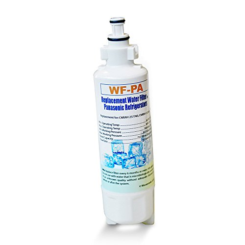 Panasonic - Filtro de agua para frigoríficos (compatible con CNRBH-125950, CNRAH-257760)