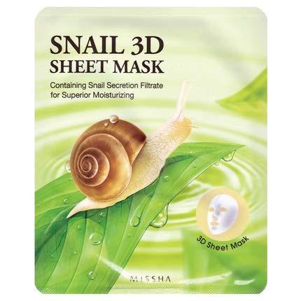 MISSHA Snail 3D Sheet Mask Anti Aging und Hautberuhigung
