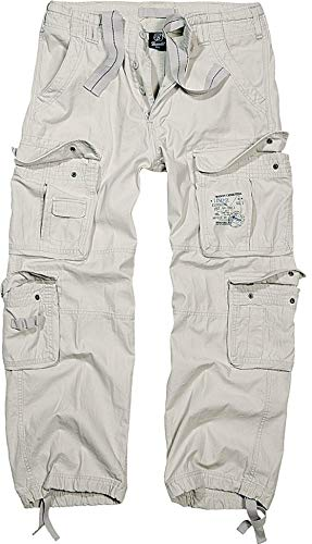 Brandit Cargohose Pure Old White 3XL-