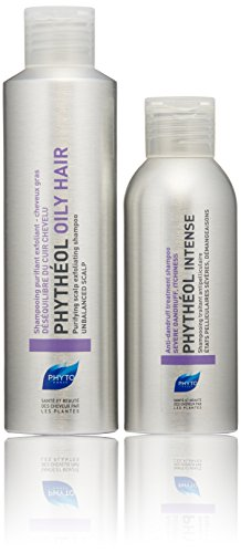 PHYTO Powerful Anti-dandruff Regimen Treatment Set for Oily Hair & Scalp