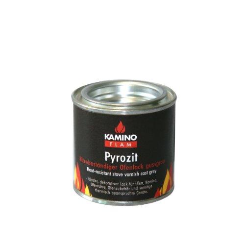 Preisvergleich Produktbild Kamino-Flam 333336 Ofenlack 125 g,  gussgrau