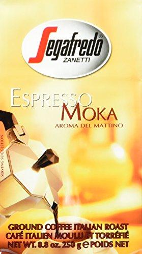 Segafredo Zanetti MOKA gemahlen, 4er Pack (4 x 250 g)