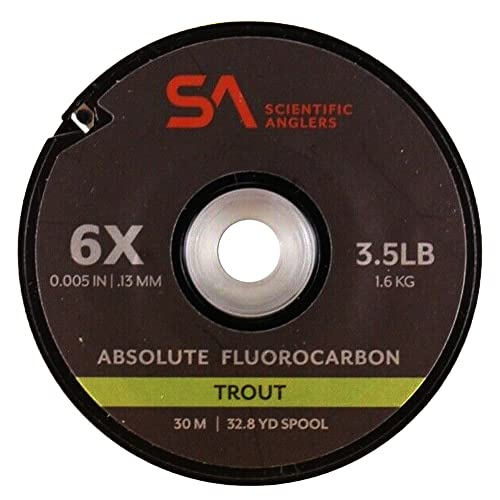 Scientific Anglers Absolute Trout Fluorocarbon Tippet 30m 5X